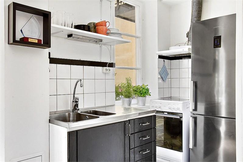 цены, фото кухонь с серебристым серым холодильником мастера окажут